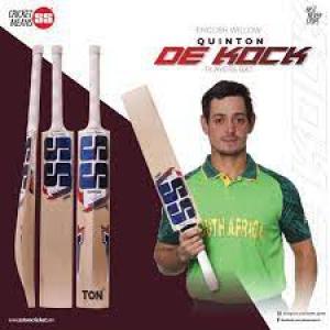 SS Ton Quinton De Kock Player Cricket Bat